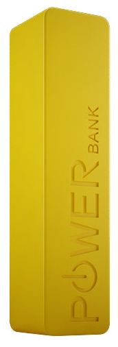 Аксессуар для телефона Rombica Внешний аккумулятор Neo NP26 2600mAh, желтый NP-00026YW