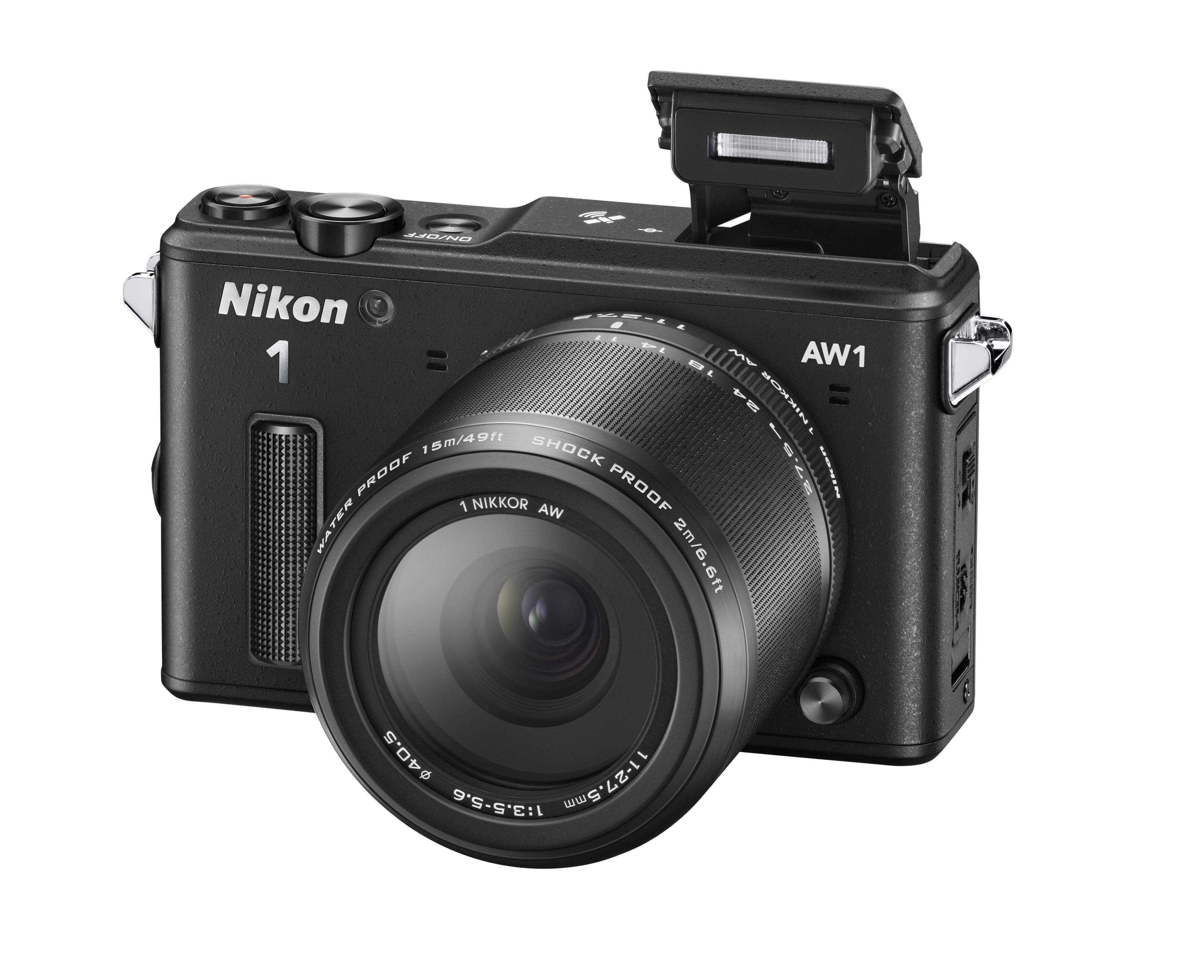 Цифровой фотоаппарат Nikon 1 AW1 KIT (11-27.5mm) Black VVA201K001