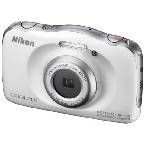 Цифровой фотоаппарат Nikon Coolpix W100, белый VQA010K001