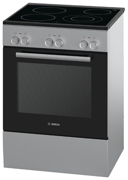 Плита Bosch HCA623150, серебристая HCA 623150 R