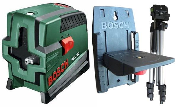 Нивелир Bosch PCL 20 SET, лазерный (0603008221)