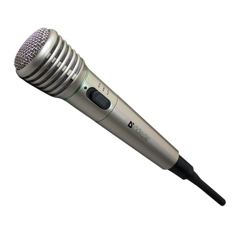 Микрофон мультимедийный Defender MIC-140 Металл D64140