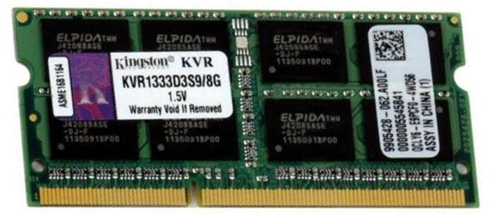 Модуль памяти Kingston KVR1333D3S9/8G