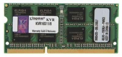 Модуль памяти Kingston KVR16S11/8