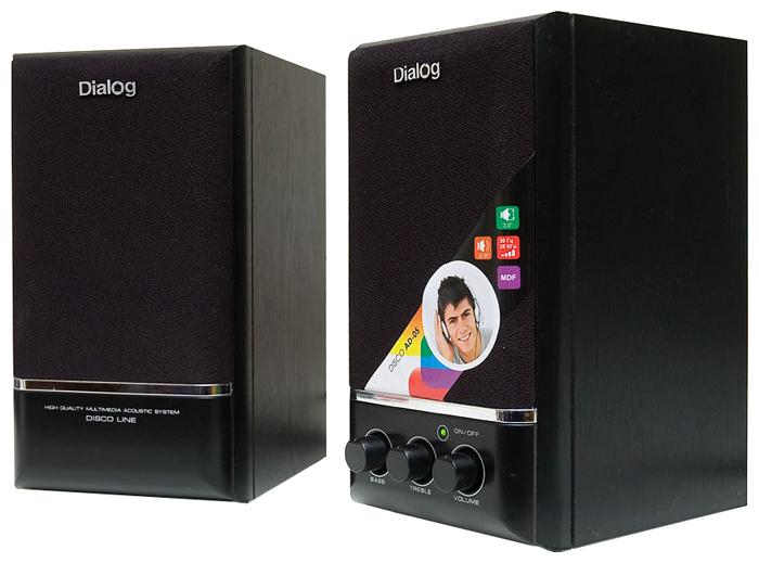 Компьютерная акустика Dialog AD-05 черная