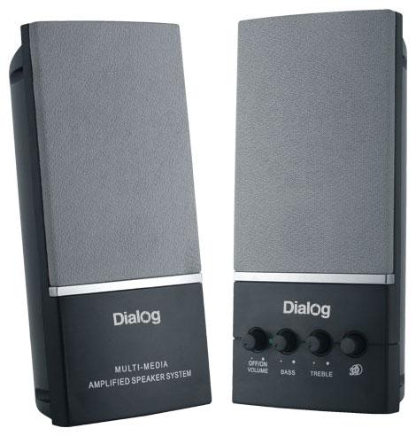 Компьютерная акустика Dialog Melody AM-12B, черные