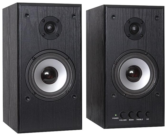 Компьютерная акустика Dialog W-204 Черный