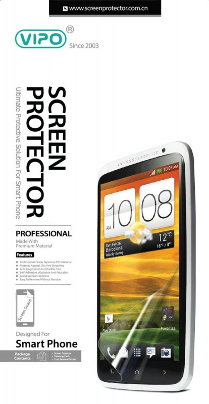 Защитная пленка для смартфона Vipo для HTC One прозрачная