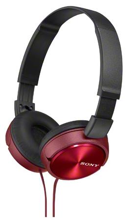 SONY MDR-ZX310/RQ(AE), красно-черные