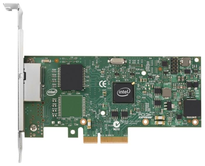 Сетевая карта внутренняя Intel I350-T2 I350T2V2BLK