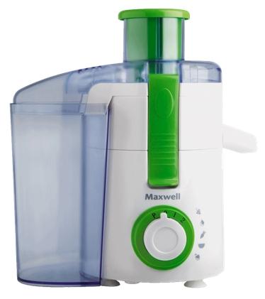 Соковыжималка Maxwell MW-1106 G, бело-зеленая