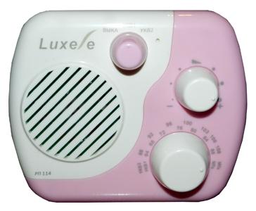 Радиоприемник Signal Luxele РП-114, бело-розовый РП-114 белый/розовый