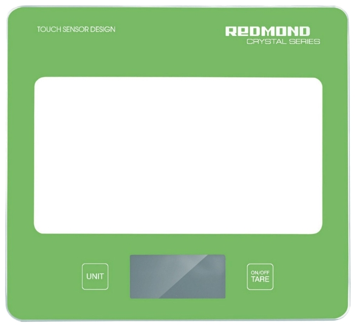 Кухонные весы Redmond RS-724, зеленые RS-724 зеленые
