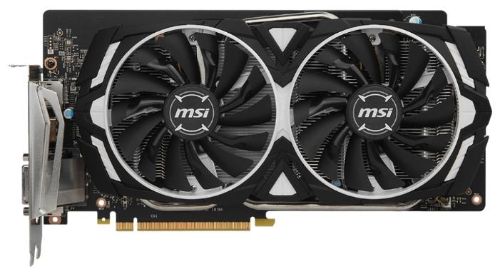 Видеокарта GeForce MSI GeForce GTX 1060 1544Mhz PCI-E 3.0 6144Mb 8000Mhz 192 bit DVI HDMI HDCP ARMOR 6G GTX 1060 ARMOR 6G
