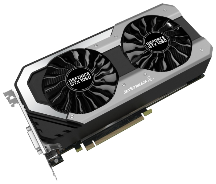 Видеокарта GeForce Palit PCI-E NV GTX1060 Super JetStream NE51060S15J9-1060J