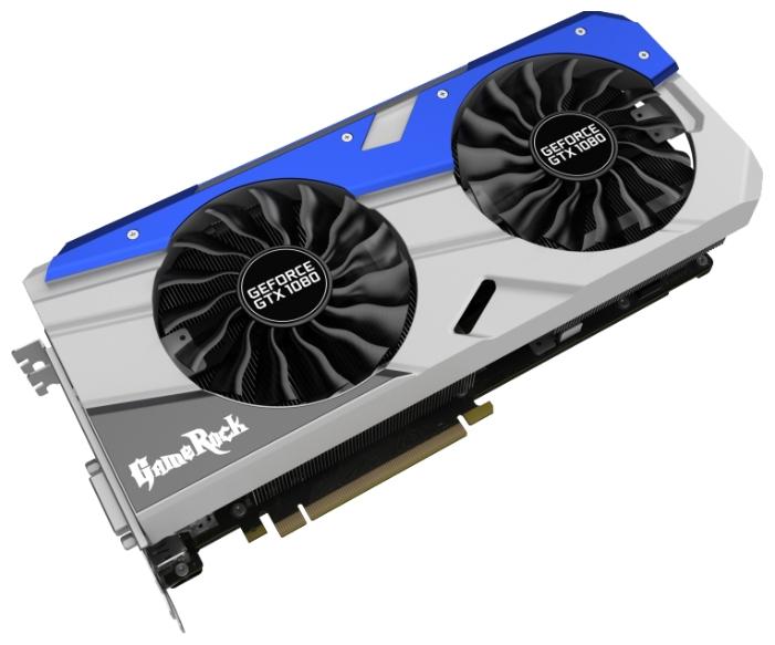 Видеокарта GeForce Palit GTX 1080 1645Mhz PCI-E 3.0 8192Mb 10000Mhz 256 bit DVI HDMI HDCP G-Panel NEB1080T15P2-1040G+9PU1000A01010