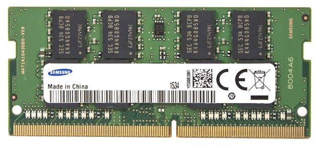 Модуль памяти Samsung DDR4 2133 SO-DIMM (8Gb, 2133MHz) M471A1G43EB1-CPBD0