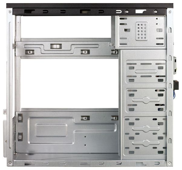 Корпус Codegen-SuperPower M105-A11 450W, черно-серебристый