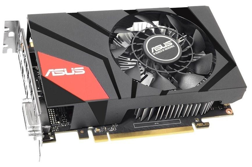 Видеокарта Radeon ASUS R7 360 1000Mhz PCI-E 3.0 2048Mb 6000Mhz 128 bit DVI HDMI HDCP MINI-R7360-2G