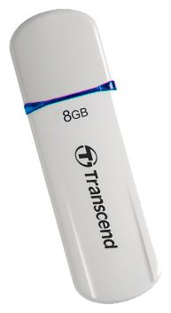 Usb-флешка TRANSCEND JetFlash 620 8Gb, бело-синяя TS8GJF620