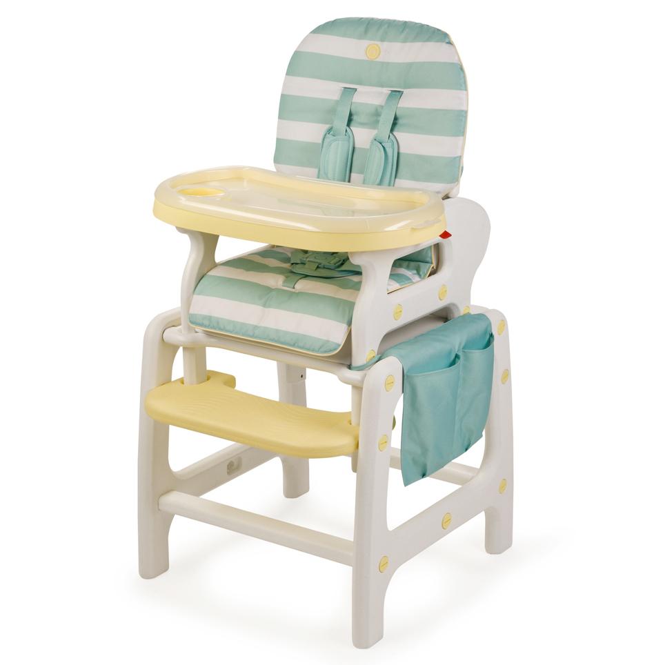 Стульчик для кормления Happy-Baby Oliver V2, голубой