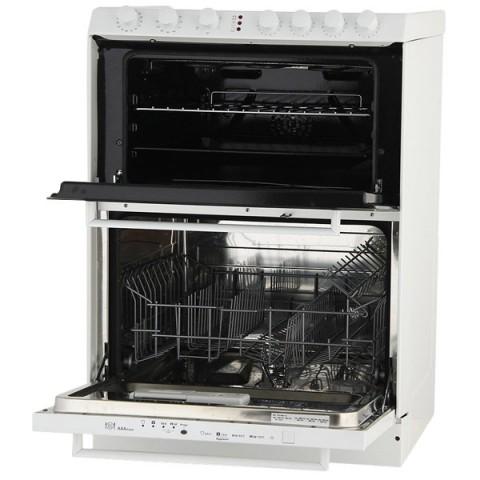 Плита Candy Trio 9503/1 W (с посудомоечной машиной)