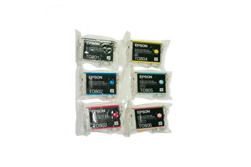 Картридж Epson T079A, 6 цветов C13T079A4A10