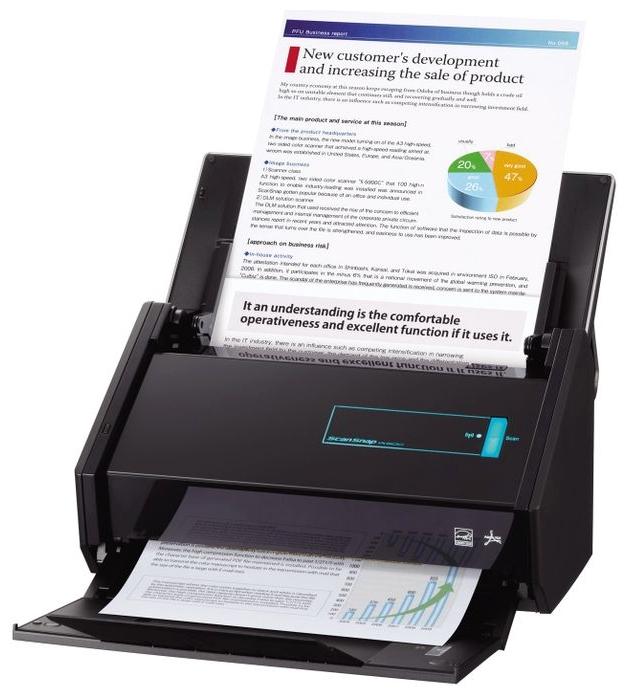 Сканер Fujitsu-Siemens ScanSnap iX500 (протяжный) PA03656-B301