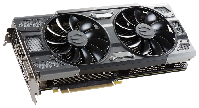 Видеокарта GeForce EVGA PCI-E NV GTX1080 8192Mb (08G-P4-6284-KR)