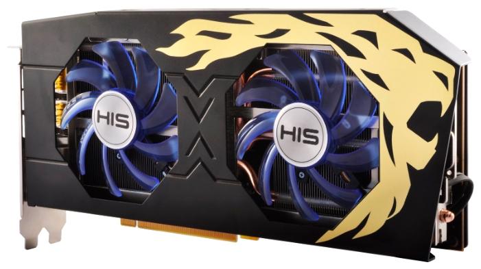 Видеокарта Radeon HIS RX 480 1120Mhz PCI-E 3.0 8192Mb 8000Mhz 256 bit DVI HDMI HDCP HS-480R8DCBR