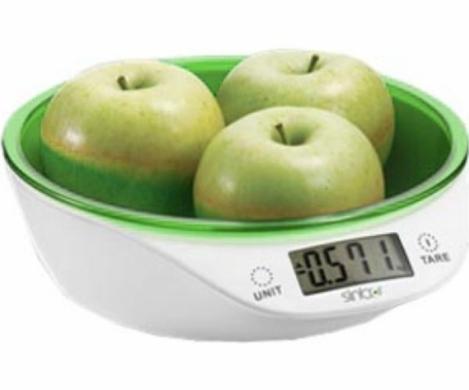 Кухонные весы Sinbo SKS 4521 зеленые SKS 4521, зеленый