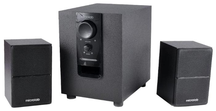 Компьютерная акустика Microlab M-106, черная M-106 BLACK