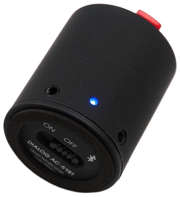 Портативная акустика Dialog AC-51BT, черная
