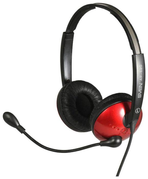 Sven AP-620, черно-красная