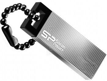 Usb-флешка Silicon-Power Touch 835 16Gb, серая (RTL) SP016GBUF2835V1T