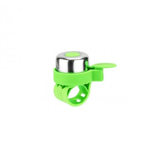 Micro Звонок для самокатов Bell неон, зеленый