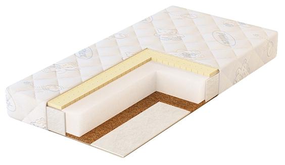 Матрас для детской кроватки Pliteks Eco Life 119х60, натуральный ЭКФ-01