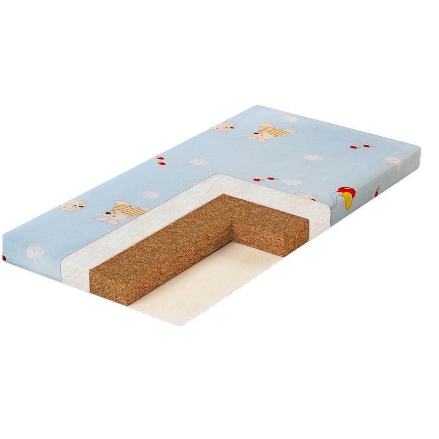 Матрас для детской кроватки Pliteks Плитекс Юниор Натуральный (5696)