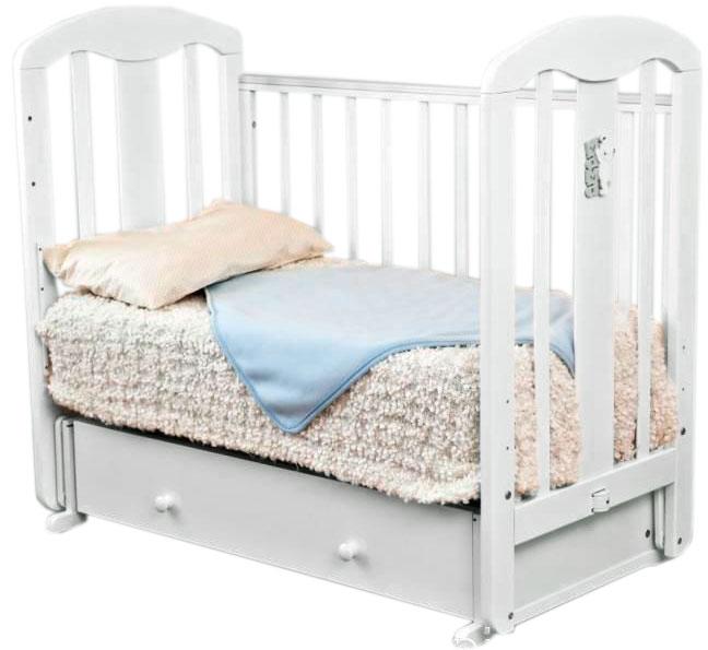 Детская кроватка Krasnaya-zvezda Виталина С853 Мама (24367)