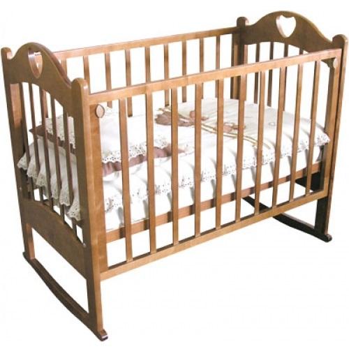 Детская кроватка Krasnaya-zvezda Красная Звезда С-635 Любаша, медовая