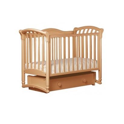 Детская кроватка Kubanlesstroy Кубаньлесстрой БИ 10.4 Азалия, натуральный бук