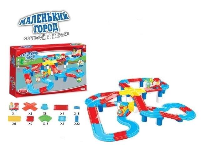 Набор игровой Маленький город Zhorya, 84 детали