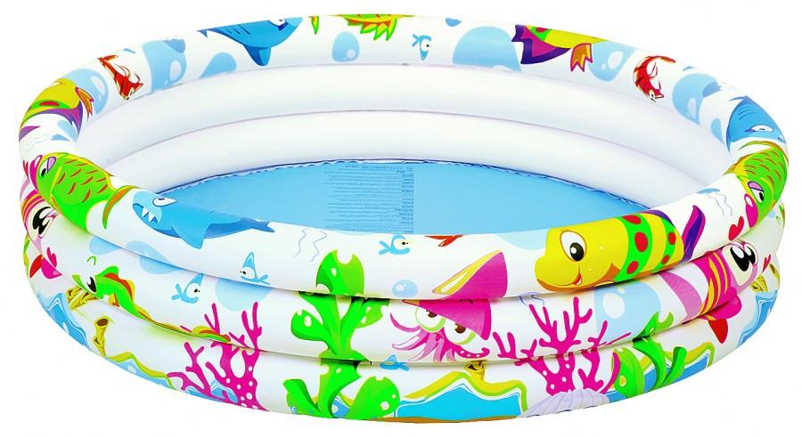 Бассейн надувной Jilong Водный Мир 91х25 см