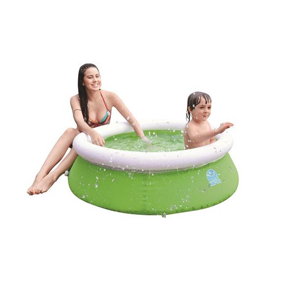Бассейн надувной Jilong Kids pool Зелёный