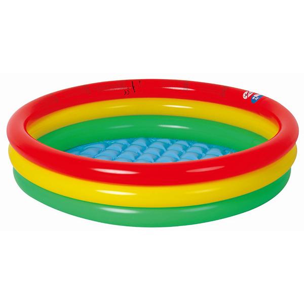 Бассейн надувной Jilong Round baby Pool 3 цвета