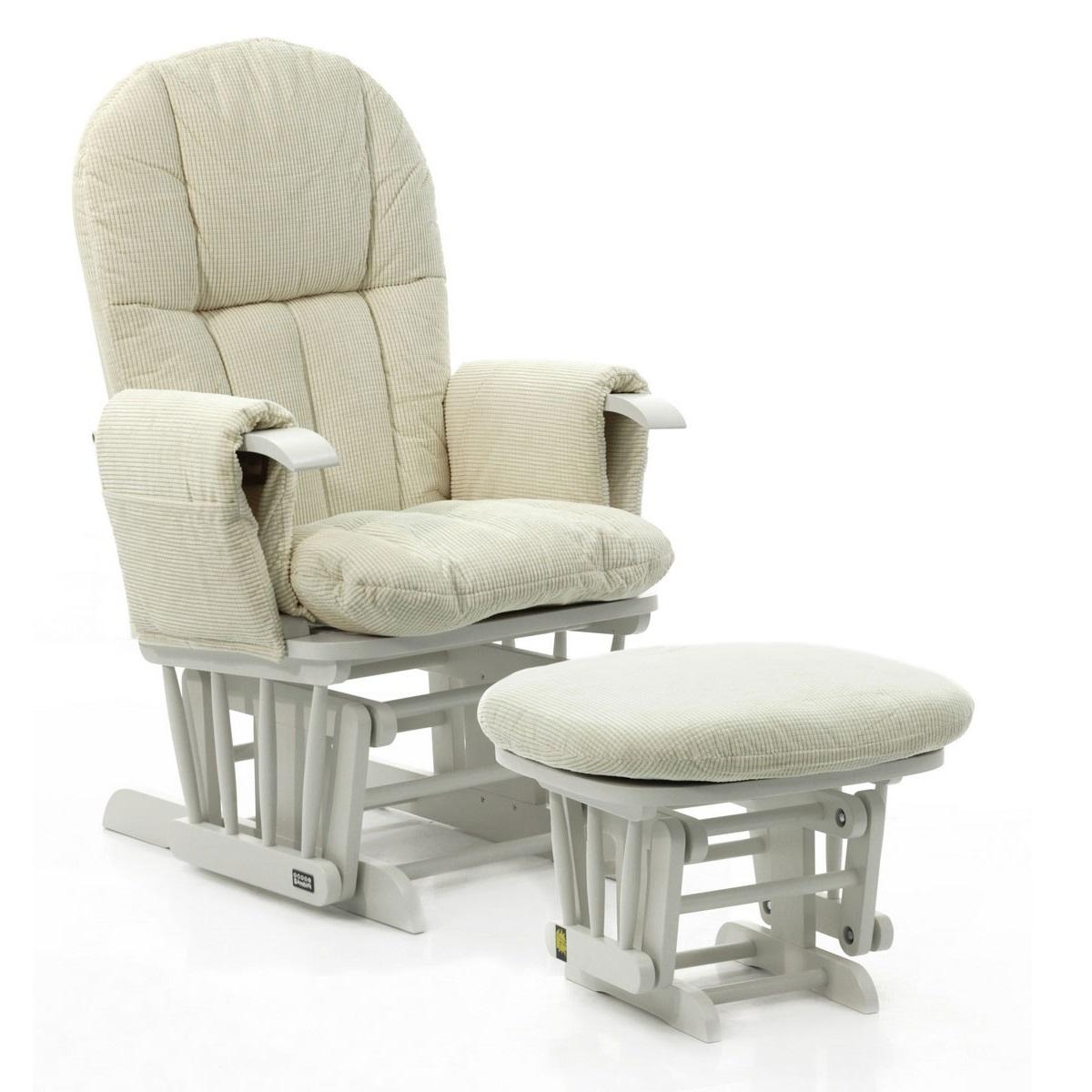 Кресло-качалка складная Tutti-Bambini Tutti Bambini Daisy GC35 Белое / крем