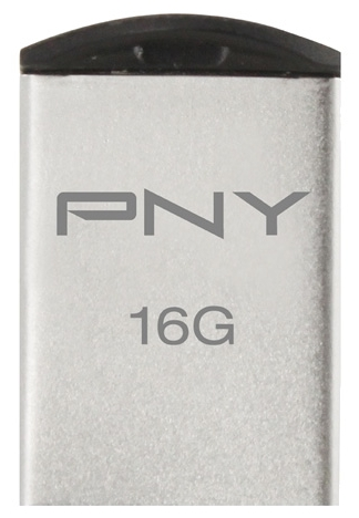 Usb-флешка PNY Micro M2 Attache 16GB (металл) P-FDI16G/APPMT2-GE