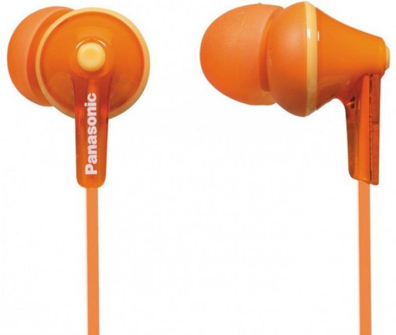 Panasonic RP-HJE125E-D, оранжевые