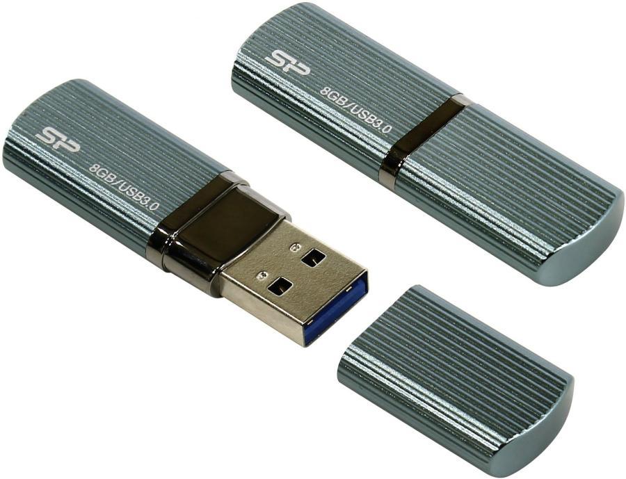 Usb-флешка Silicon-Power Marvel M50 8GB, синяя (RTL) SP008GBUF3M50V1B