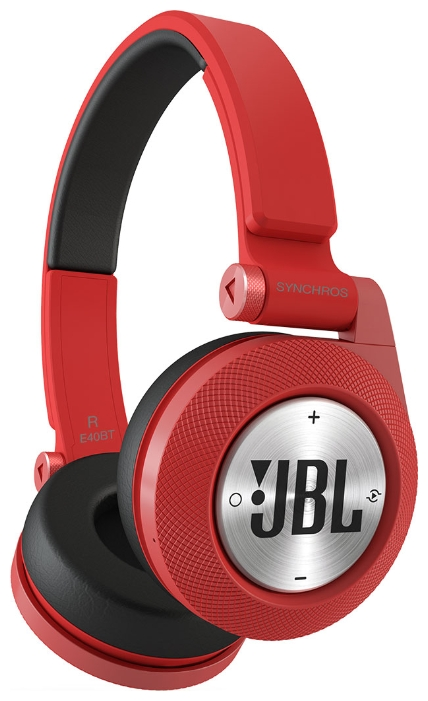 JBL Synchros E40BT, красная